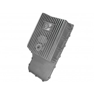 aFe POWER Street Series Transmission Pan Raw w/ Machined Fins