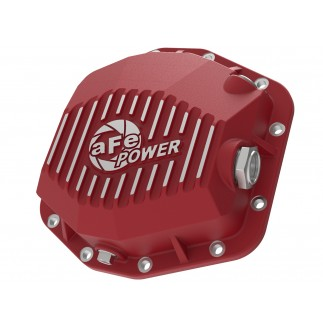 Pro Series Rear Differential Cover Red w/ Machined Fins