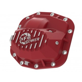 Pro Series Front Differential Cover Red w/ Machined Fins