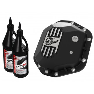 Street Series Differential Cover Black w/ Machined Fins & Gear Oil