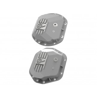 Street Series Front & Rear Differential Covers Raw w/ Machined Fins