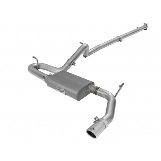 Scorpion 2-1/2 IN Aluminized Steel Cat-Back Exhaust System