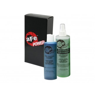 Air Filter Restore Kit: 8 oz Blue Oil & 12 oz Power Cleaner (Squeeze Oil Bottle)