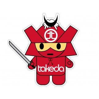 aFe POWER Takeda Samurai Decal - 4-1/2 x 4-1/2 in