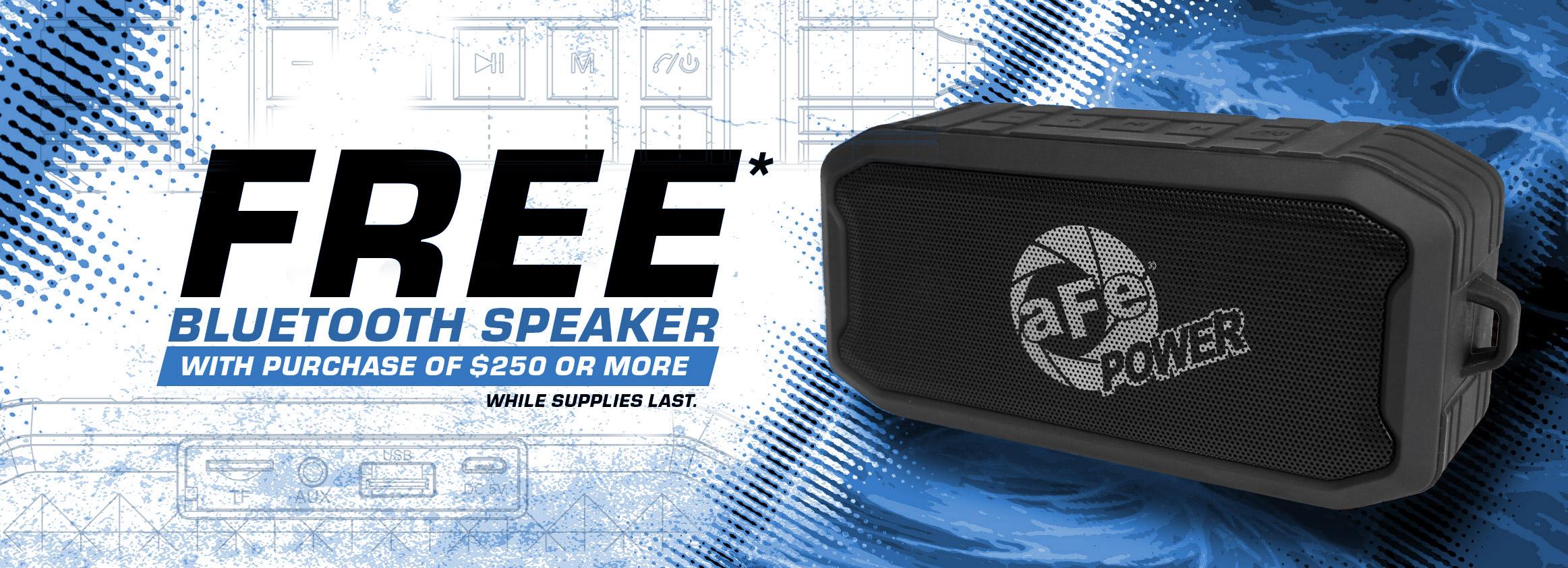 Free Bluetooth Speaker 2021