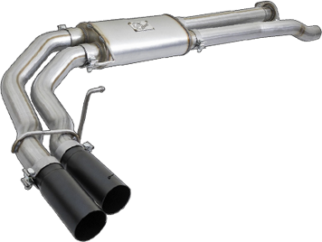 Rebel Series 3in Cat Back Exhaust System