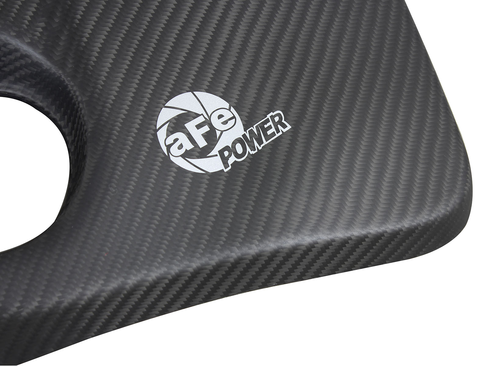 BMW M3 & M4 matte CF engine cover 2