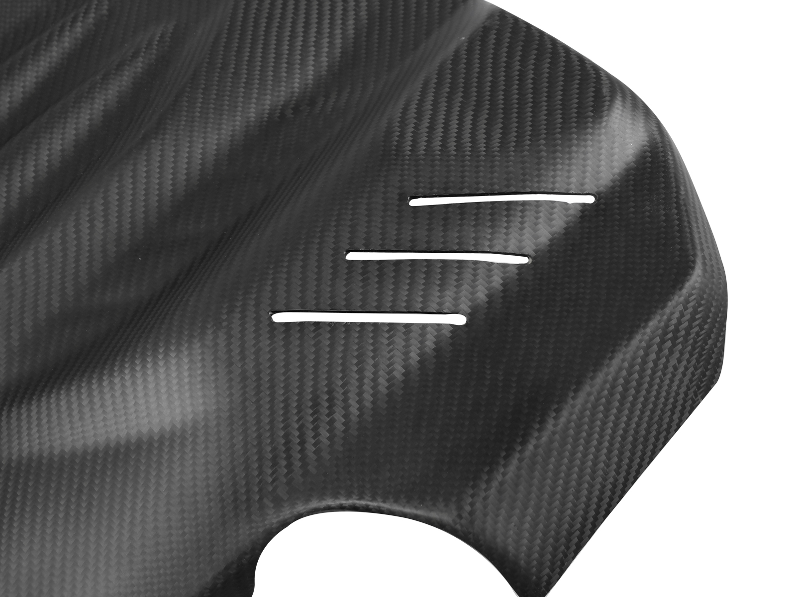 BMW M5 matte engine cover 2