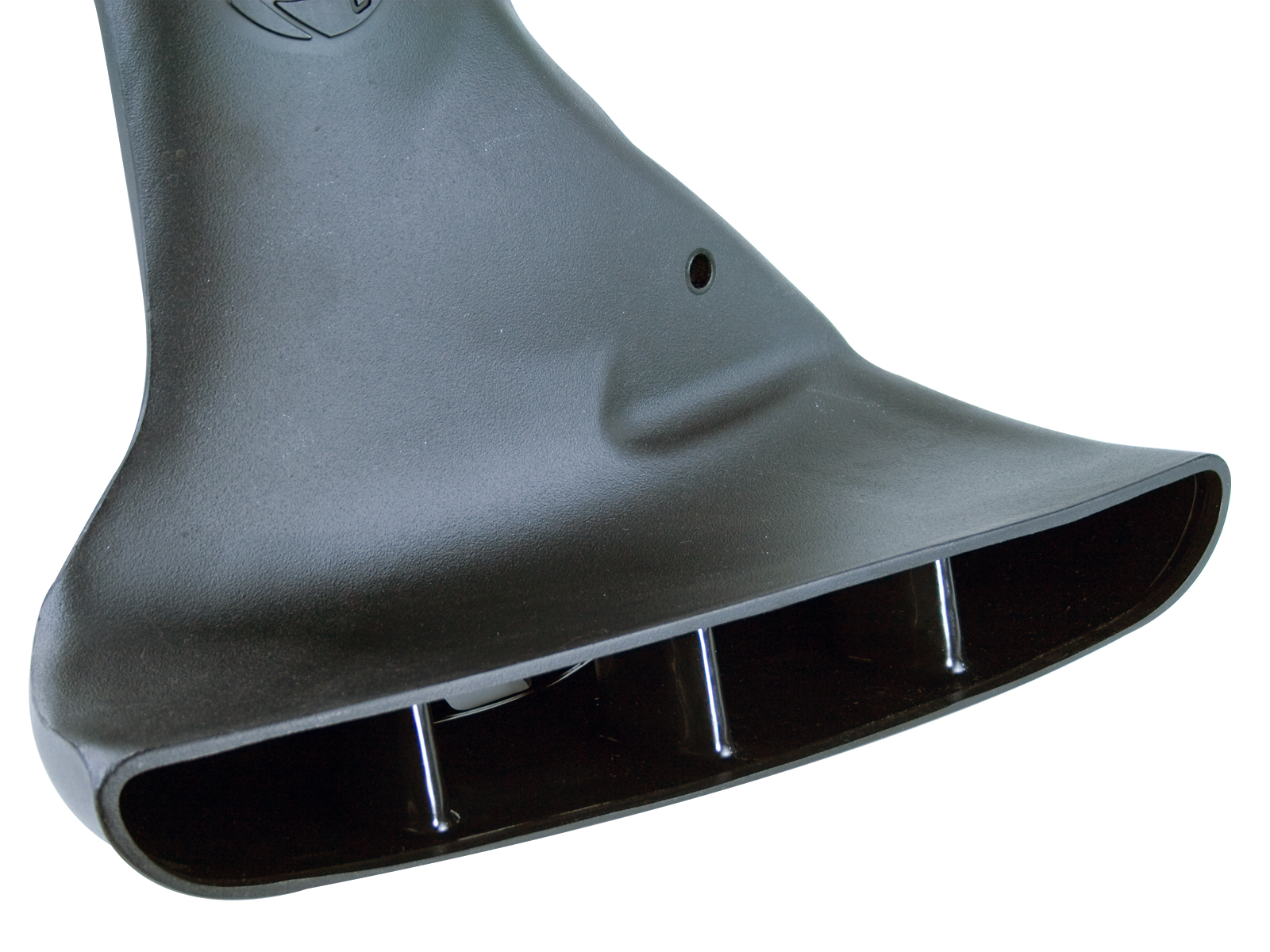 Dodge diesel air scoop close up