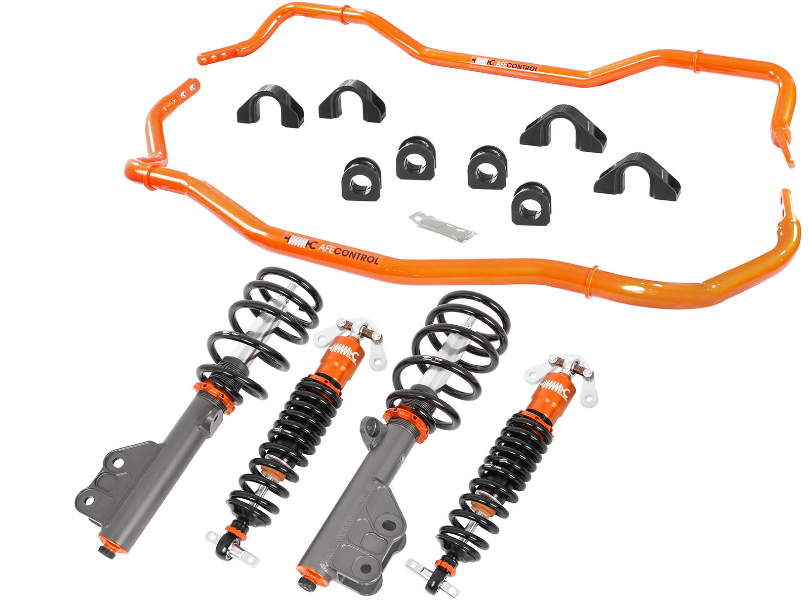 Ford Mustang stage-2 suspension kit