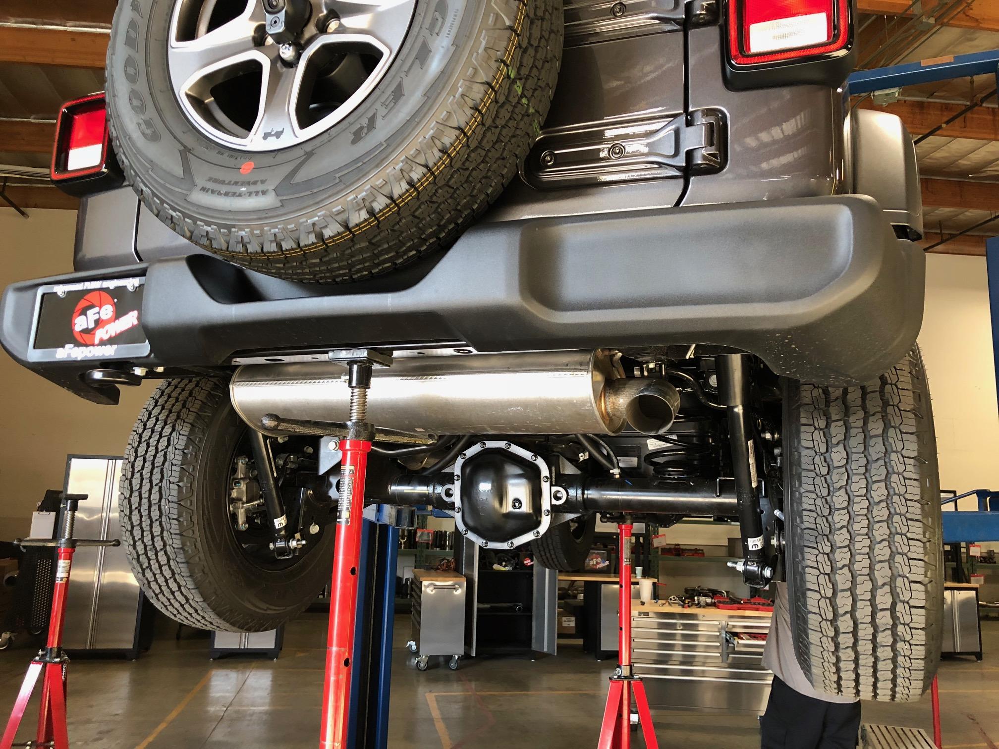 Stock JL Exhaust