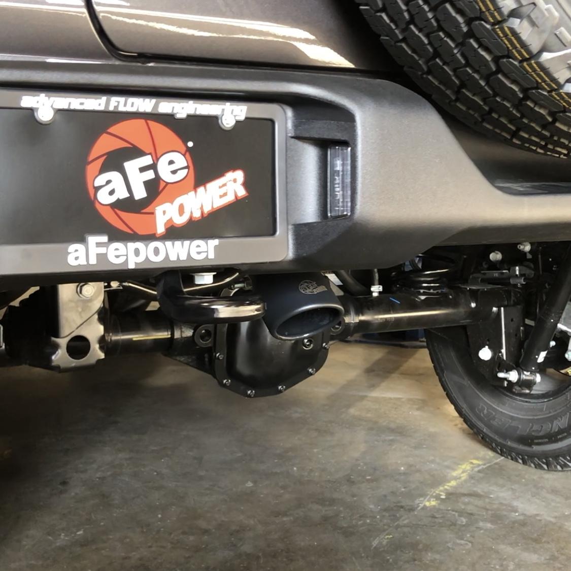 aFe JL Exhaust