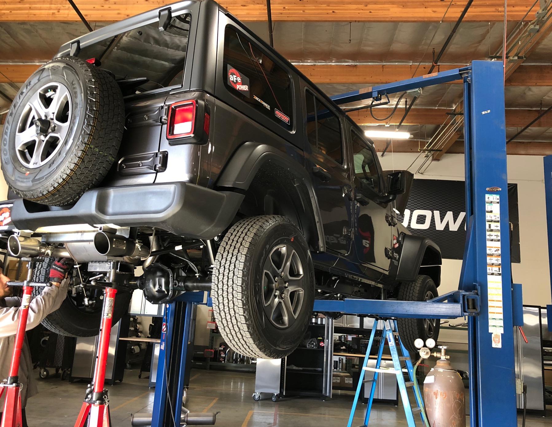 Wrangler JL Axle-Back Exhaust