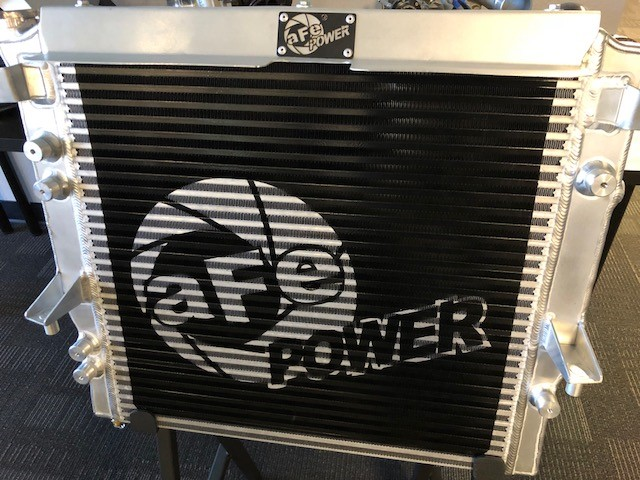 aFe POWER Radiator