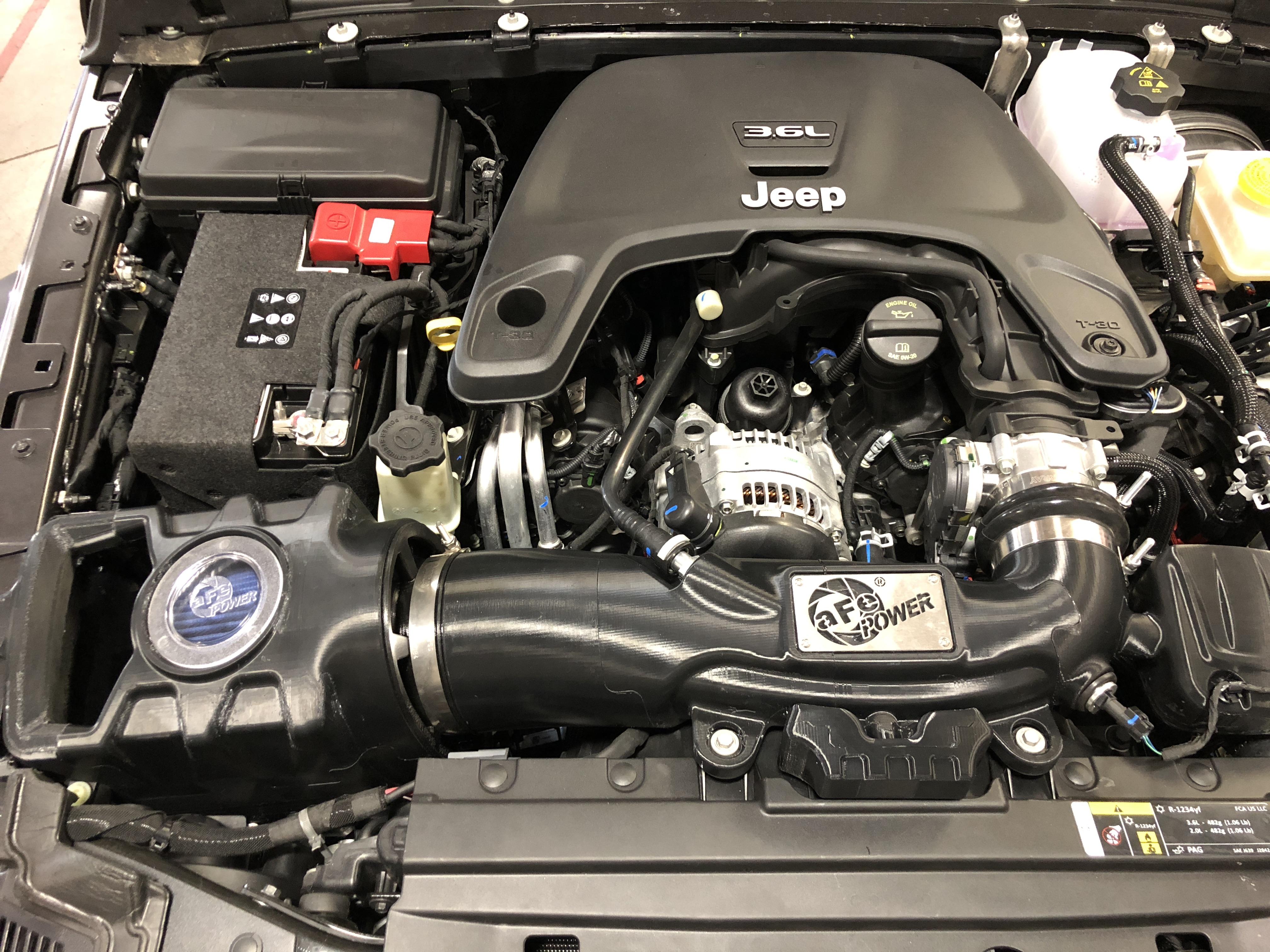 Jeep JL V6 Intake