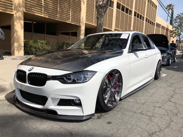 Slammed BMW