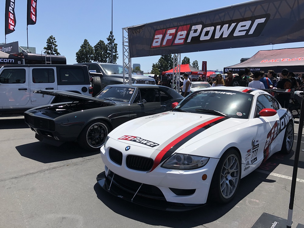 aFe BMW Z4 M Coupe