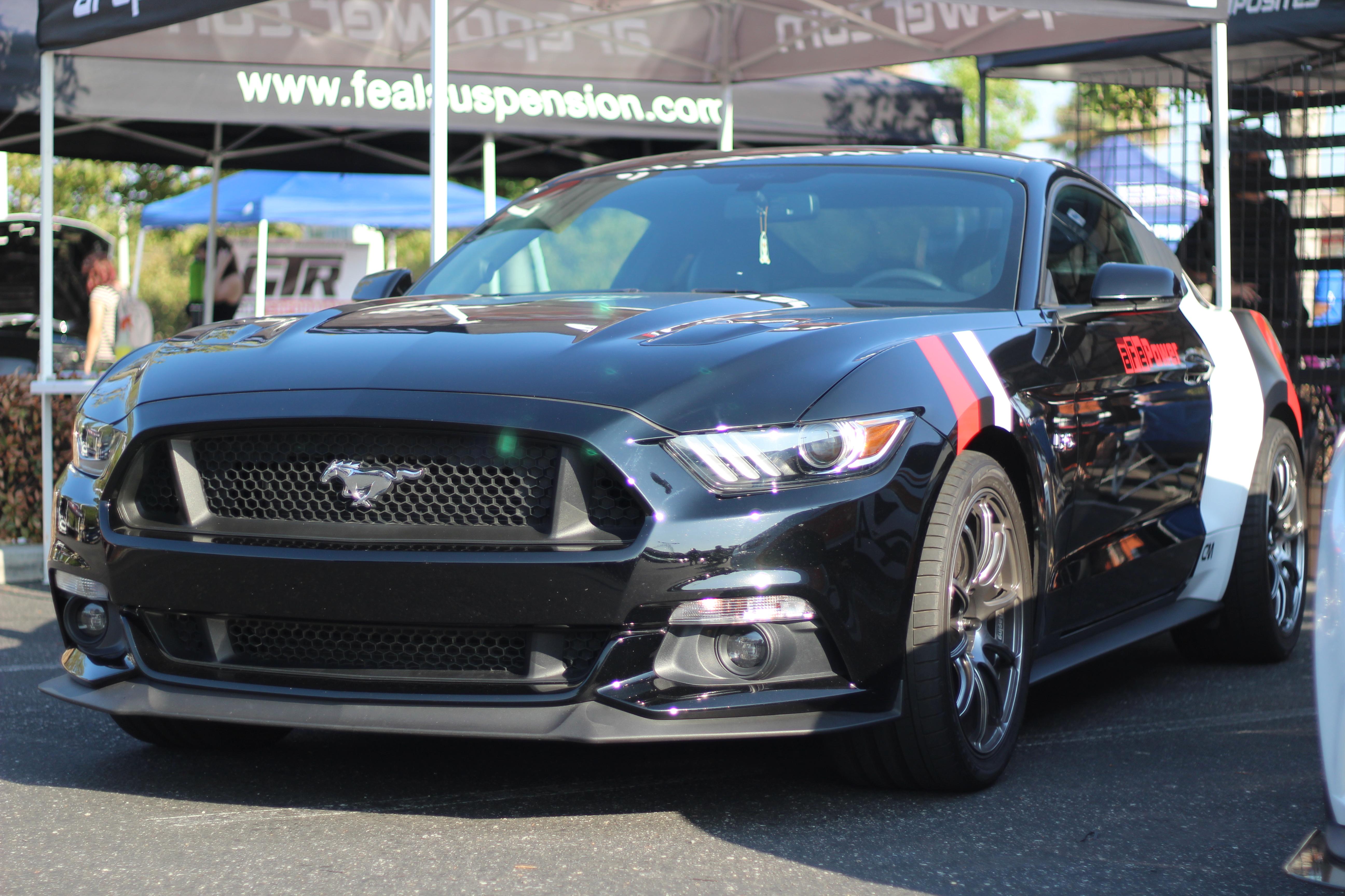 Black aFe Mustang