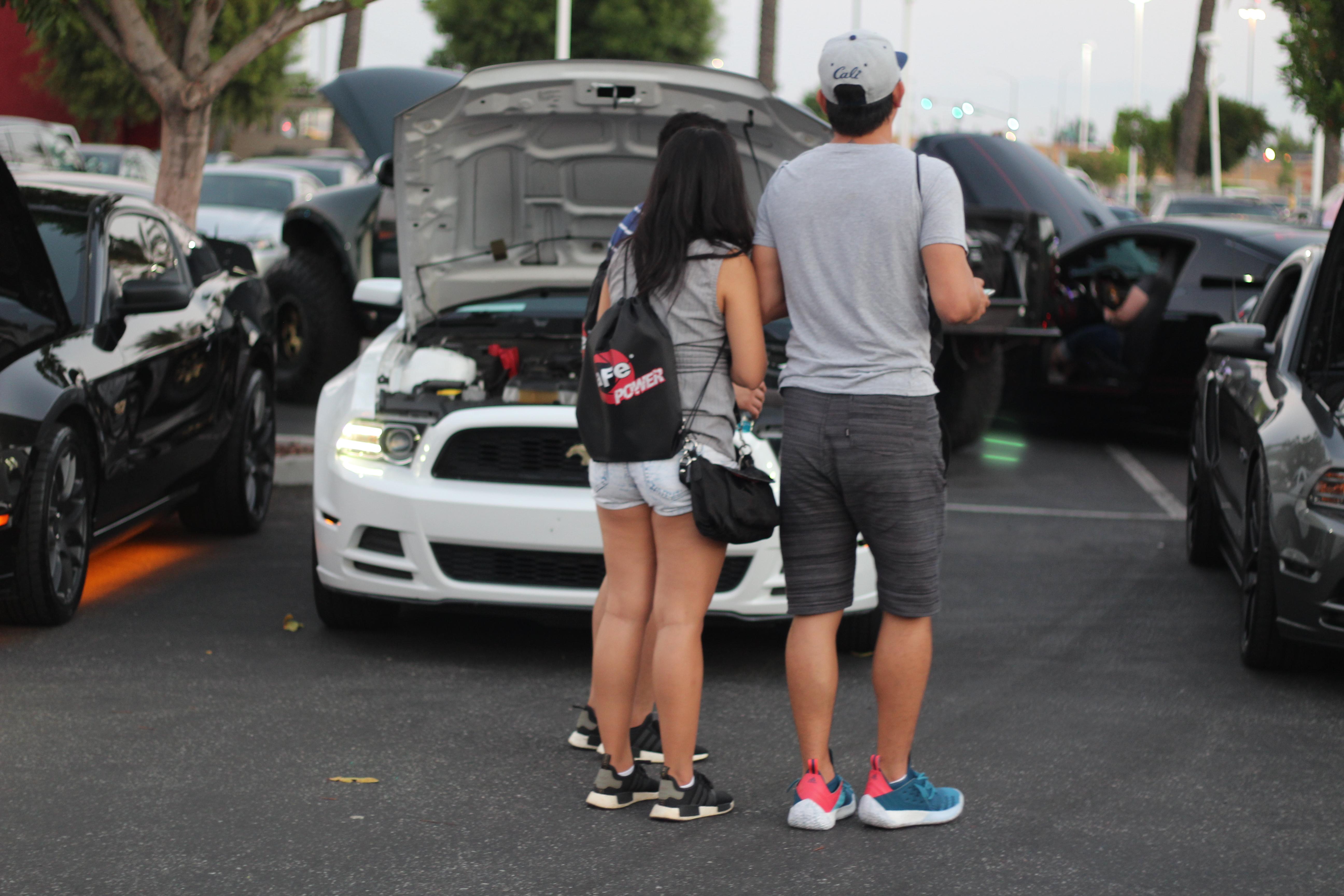 Mustangs After Dark Meet