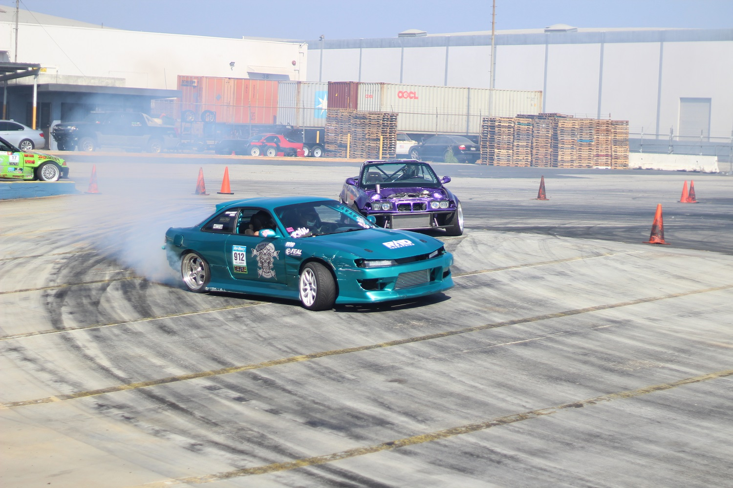 Nissan and BMW Drifting
