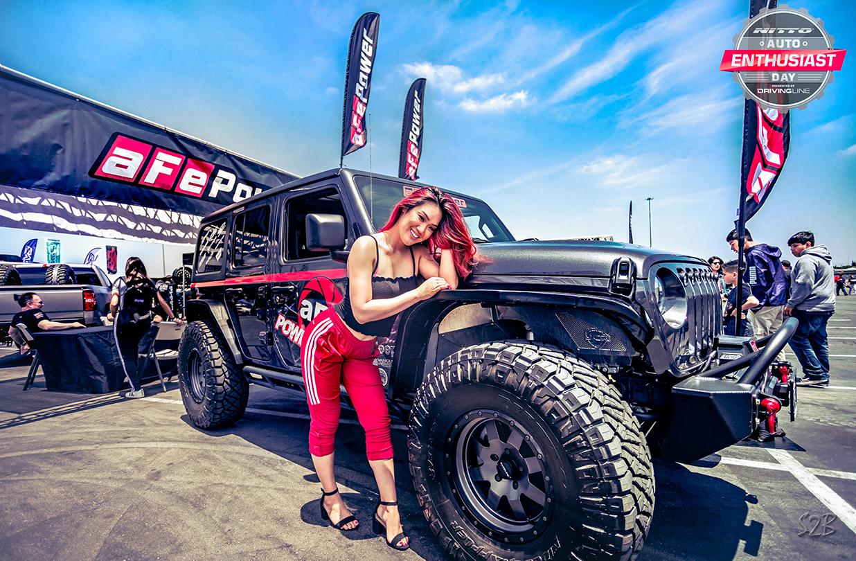 Nitto Auto Enthusiast Day aFe POWER Jeep Wrangler