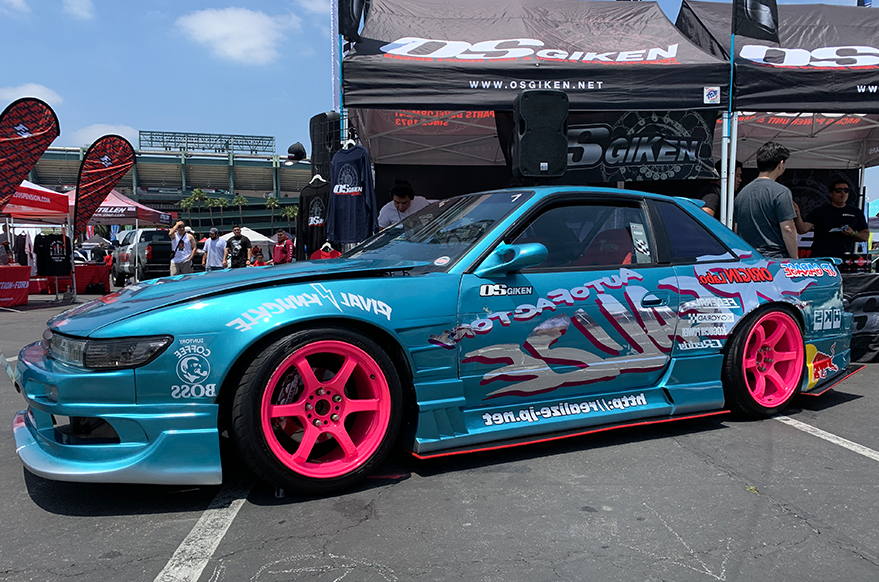 Nitto Auto Enthusiast Day Drift Car