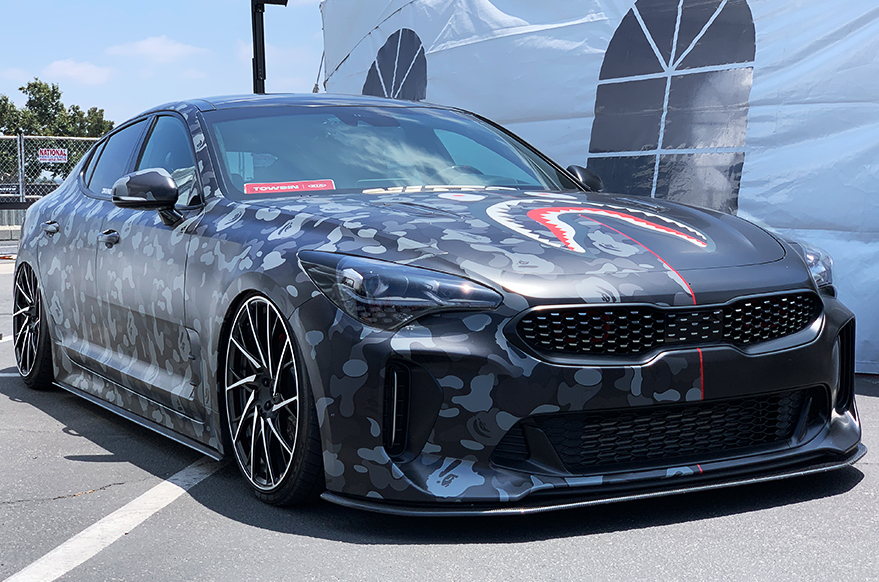 Nitto Auto Enthusiast Day Kia Stinger