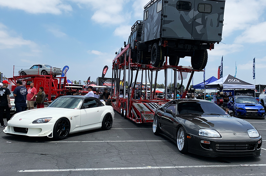 Nitto Auto Enthusiast Day Toyota Supra and Honda S2000