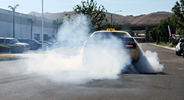Cars and Coffee aFe POWER Demon Burnout