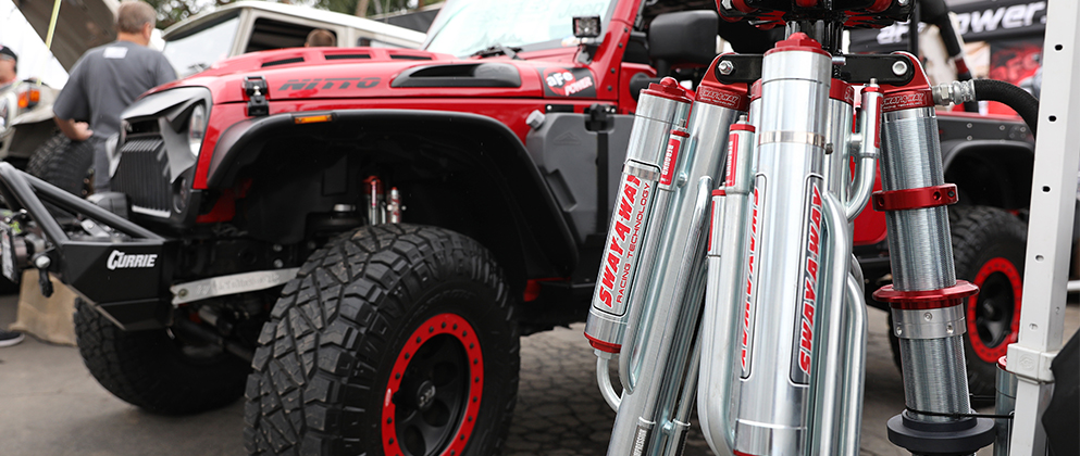 aFe POWER Jeep Off-Road Expo Sway-A-Way