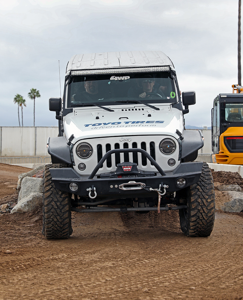 aFe POWER Jeep Exhibit Toyo Tires Off-Road Expo