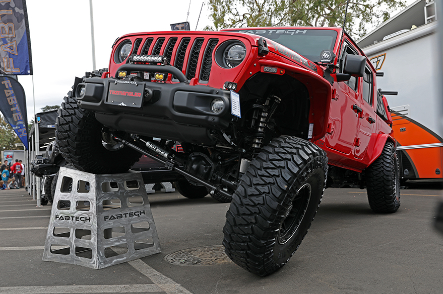 aFe POWER Jeep Gladiator Off-Road Expo