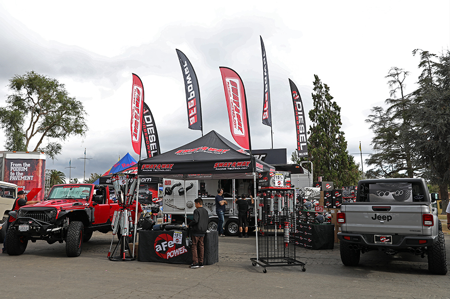 aFe POWER Jeep Off-Road Expo Booth