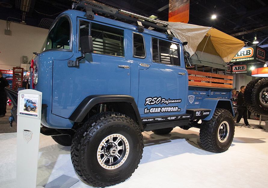 aFe POWER Overland Jeep Truck Hero