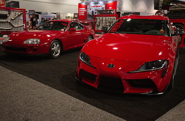 aFe POWER Toyota Supras